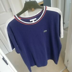 Great Boys Navy Lacoste T-Shirt, Age 10!!