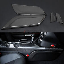Car Interior Center Console Side Panel Trim For Ford Mustang 2015- 2020 4pcs