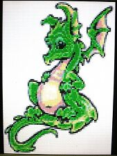 BABY DRAGON ~ Counted Cross Stitch KIT #K18