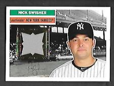 NICK SWISHER 2012 TOPPS ARCHIVES RELICS #56R-NS YANKEES FREE COMBINED S/H