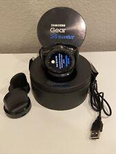 Samsung Gear S3 Frontier 46mm Stainless Steel Case Black Smart Watch -...
