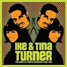 IKE & TINA TURNER-THE COMPLETE POMPEII...-IMPORT 3 CD WITH JAPAN OBI M13