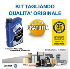 Kit tagliando olio ELF 5W40 4LT + 4 FILTRI  NISSAN Micra K12 1.0 1.21.4i 16V