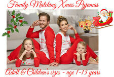 Personalised Christmas Pyjamas Adult & Childrens sizes, Ideal for all the family