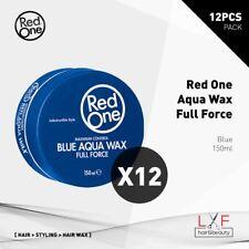 12pcs Red One Aqua Hair Gel Wax Blue 150ml Free Agiva #02 Wax! Hair Style Salon