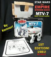 1981 STAR WARS ESB-EMPIRE STRIKES BACK MTV-7 Mini-Rig With Box+! *SALE!*