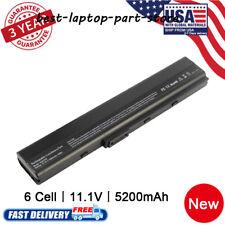 6 Cell Laptop Battery for Asus KA31-K52 A32-K52 A41-K52 A42-K52 K52F K52J K52JK