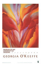 Red Canna by Georgia O'Keeffe Art Print Poster 20x24