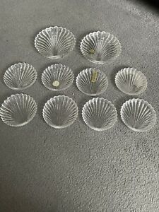 Villeroy Boch Crystal Shell Dishes X 10