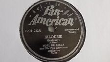 Noel De Selva - 78rpm single 10-inch – Pan American #PAN 032 Jalousie