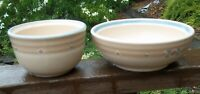 NORITAKE  ARIZONA   6 1/2 inch cereal bowl  &   4 5/8 inch fruit bowl