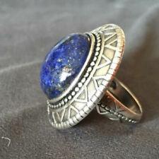 Silpada Peruvian Ring R3270 Sterling Silver and Lapis Lazuli Size 6 Blue NIB