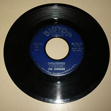 NORTHERN SOUL 45RPM RECORD - LOU JOHNSON - BIGTOP 101