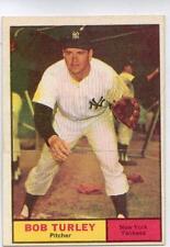 "1961 TOPPS BASEBALL #40  BOB TURLEY    ""NEW YORK YANKEES"""