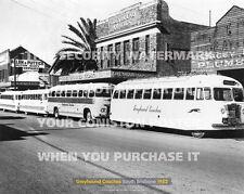 "GREYHOUND COACHES BRISBANE 1952 20"" x 16"" 51 x 41 CM POSTER PRINT PICTURE x"