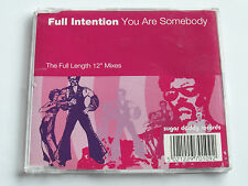 "Full Intention - You Are Somebody - Full Length 12"" (5 Track CD) Used Very Good"