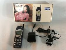 Vintage NOKIA 5165 Telephone In Original Box With Charger & Ear Piece Powers On