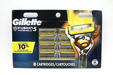 Gillette Fusion5 Proshield 91339192 Razor Blade refills Packs of 8 Cartridges