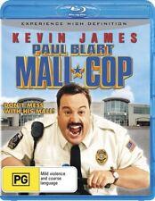 PAUL BLART MALL COP BLU RAY=KEN JAMES=REGION B AUSTRALIAN=BRAND NEW NOT SEALED