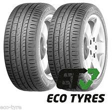 2X Tyres 205 50 R17 93V XL Barum Bravuris 3HM FR ( Continental ) E C 72dB