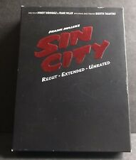 Sin City: Recut Extended Unrated 2-Disc Dvd Set w/ Graphic Novel