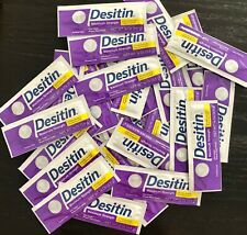 Desitin Maximum Strength Single Use Travel Packs (30) 3.5g Each Exp. 10/20