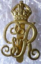 Badge- Norfolk Yeomanry George V Cap Badge - KC (BRASS) Slider