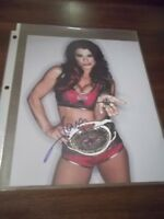 WWE/TNA Knockout Tara SIGNED 8X10 PHOTO CELEBRITY SLEUTH VICTORIA IMPACT AUTO