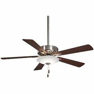 """MinkaAire F656L-BN/DW Contractor 52"""" 5 Blade LED Indoor Ceiling Fan"""