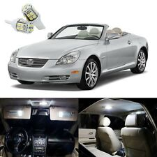 11 x Xenon White LED Lights Interior Package Kit For Lexus SC430 2002 - 2010