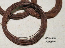 24 gauge Primitive Rusty Wire -- 60 feet of thin wire - easy to bend and cut