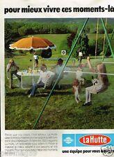 Publicité advertising 1979 Les magasins de sport et camping La Hutte