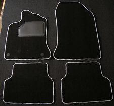 ab 2015 - negro aguja fieltro 4tlg renault clips Alfombras tapices de Renault Megane 4