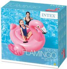 Fenicottero Gonfiabile Cavalcabile Flamingo Mega Party Island Ride On Pink Intex