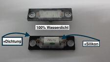 LED SMD Kennzeichen VW T5 Caddy 3 Jetta 3 Passat 3C B6 Variant Touran VWP2