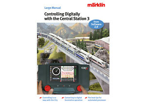 """Märklin 03093 Book Manual """"Controlling Digitally with the Central Station 3"""" NEW"""