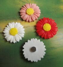Aimants de décoration intérieure en fleurs, plantes, arbres pour réfrigérateur