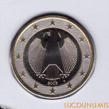 Allemagne 2003 1 Euro A Berlin BU FDC provenant coffret 180000 exemplaires - Ger