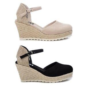XTI Mujer Sandalias Cuñas Verano Zapatos Chanclas 23008