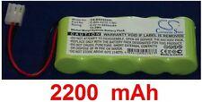 Batterie 2000mAh Pour Bosch Somfy BD5000, BD6000 type E-BRLX620-1-NC
