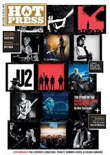 Hot Press magazine - July 2017 - U2 - Croke Park Souvenir Issue - Bono The Edge
