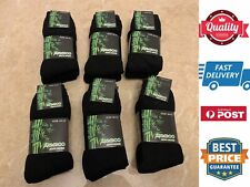 6 Pairs Men's Bamboo Socks Heavy Duty Work Socks Special Warm Comfy, AU Stock