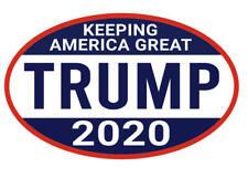 2 pack TRUMP 2020 MAGA STICKER DECAL WINDOW BUMPER KEEPING AMERICA GREAT
