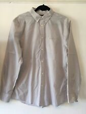Men's Ben Sherman Check Grey Shirt - Size L