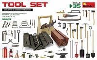 Tool Set Diorama Accesorios 1 :3 5 Plástico Modelo Kit 35603 Miniart