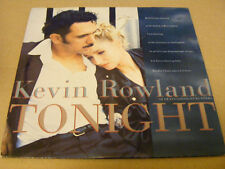 "KEVIN ROWLAND Tonight Ex+ Mercury UK 1984 P/S 7"""