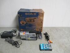 Sony Steadyshot Digital Handycam DCR-TRV130 NTSC Digital8 Camcorder Night Vision