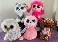 Ty Beanie Boos Lot X 5, 13cm (6'), Toy,, Tags, Patsy, Patches, Slush, Tusk,  #5