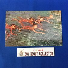 Boy Scout Camp Postcard Hidden Valley Scout Reservation Iron Works, N.H.
