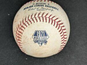 2021 Pittsburgh Pirates 1971 World Series 50th Anniversary Game Used Ball